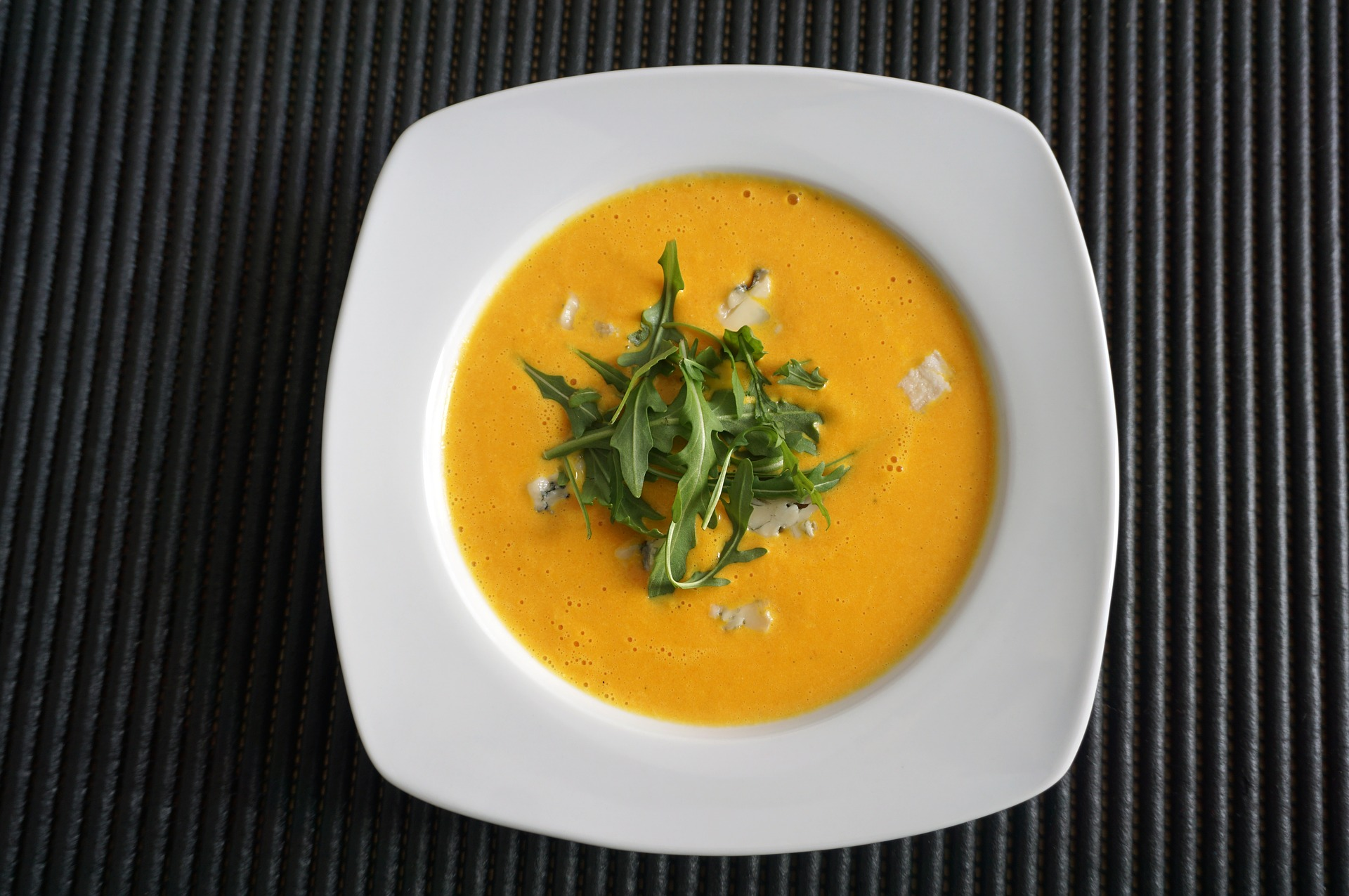 soup with cheese