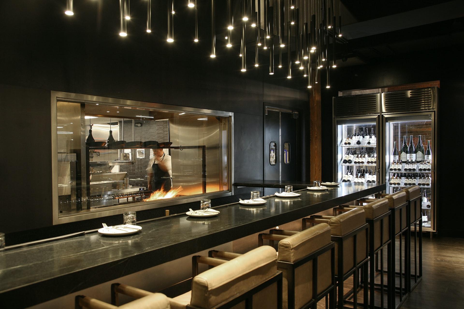 restaurant bespoke kitchen